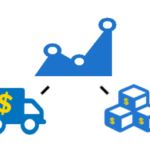 Net Profit Icon showing cost of goods and cost of shipping integration icons